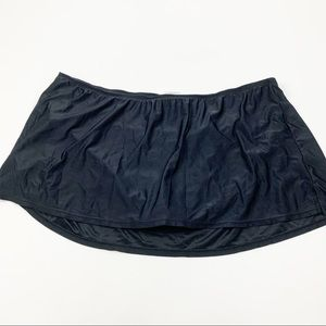 Collections by Catalina Black Bikini Swim Skirt